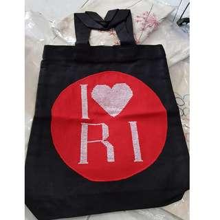 I LoVe RI Tote Bag