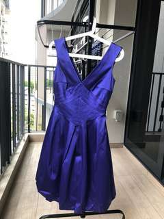 (New with Tag) Warehouse Blue Cocktail Dress *UK8*