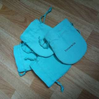 Tiffany and Co pouches