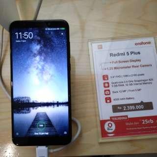 Cicilan Tanpa Kartu Kredit Hp Xiaomi Redmi 5 Plus Ram 3
