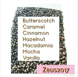 Best Seller Coffee Beans flavored #hazelnut #butterscotch #mocha #vanilla #caramel #cinnamon #macademia #irishcream
