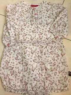 ELLE BUBBLE DRESS 12-24mth