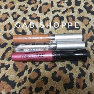 Take all Wet n wild lipgloss & lipstain