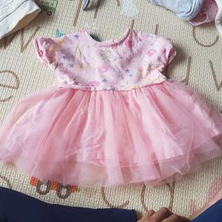 Pink mothercare dress