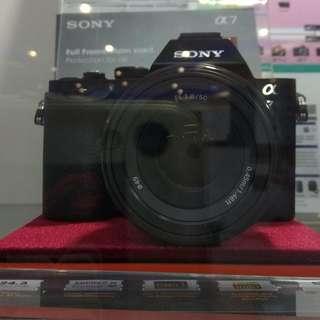 Sony ILCE-7/BL DP 0% Cukup Admin 199.000 Tanpa Kartu Kredit