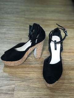 F21 wedge shoes