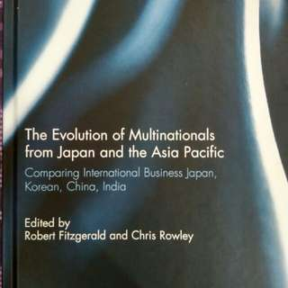 (New) The Evolution of Multinational from Japan and the Asia Pacific