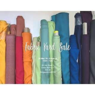 Fabric Yard Sale