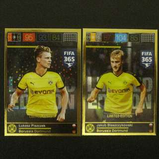 15/16 Panini Adrenalyn FIFA 365 Limited Edition - #Dortmund