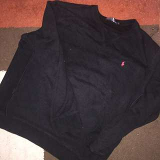 Authentic Polo Sweater