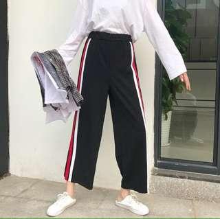 Korean Ulzzang Loose Sports Pants