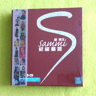 鄭秀文SAMMI CHENG. ultimate choice (sealed ) 3 cd not vinyl record