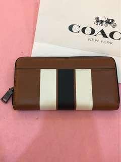 Original coach men Wallet purse Pouch bag