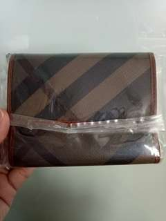 💯% Authentic Burberry Wallet (Brown)