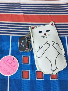 Cute cat pouch