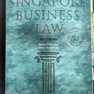Singapore Business Law (4th ed)