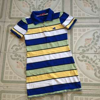 Polo stripes dress