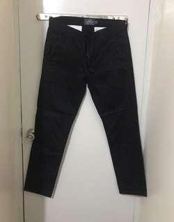 Topman Skinny Chino Pants (Black)