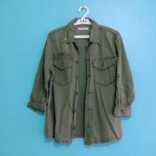 Army Green Buttondown