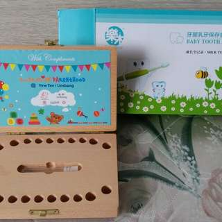Free - tooth box for sg 21 babies