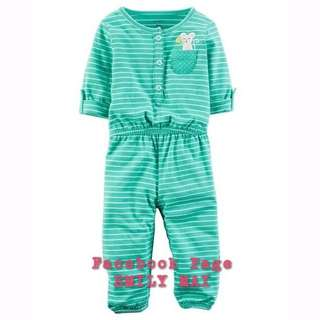 CARTER'S Embroidered Jumpsuit