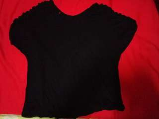 Round neck cotton top