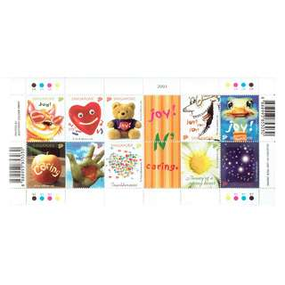 Miniature Sheet Joy n Caring