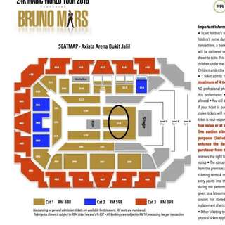 Bruno Mars 24k Live in Kuala Lumpur