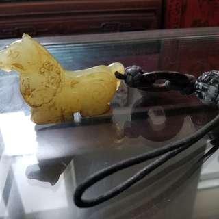 Vintage jade horse
