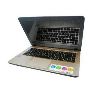 Kredit Laptop Asus X441UA Ci3 Window 10