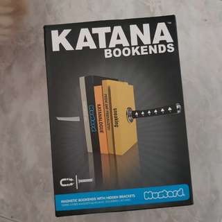 BNIB Katana Bookends