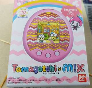 Tamagotchi mix spacey pink version