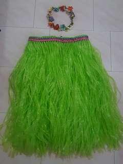 Hawaiaan Grass Skirt