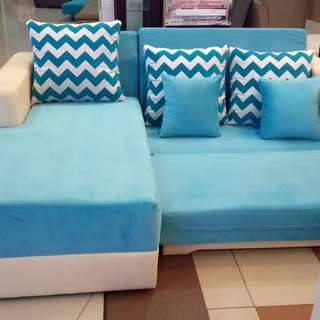 Sofa L Bed Bisa Cicilan Tanpa CC dan Jaminan