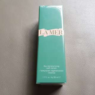 La Mer Moisturizing Soft Lotion 50ml Brand new