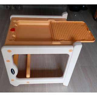 Multi purpose table for kids