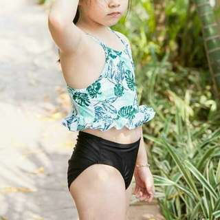 Lilo Leaf Print Swimwear