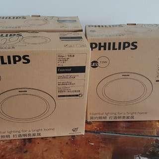 Philips Down light 77114 7.5W 2700k white brand new