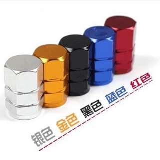 1 set 4 pcs car tyre valve cap all Colors