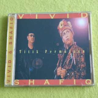 VIVID & SHAFIQ. titik permulaan. Cd not vinyl record