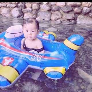 INTEX kiddie float airplane