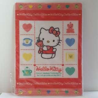 絕版中古罕有珍藏Rare Vintage Sanrio Hello Kitty 1993年 書寫墊板