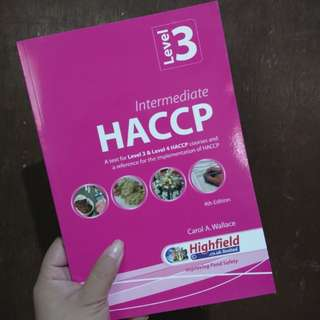 HACCP Level 3 by Carol A Wallace