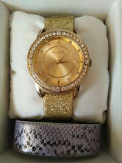 Aldo Rhinestone Watch