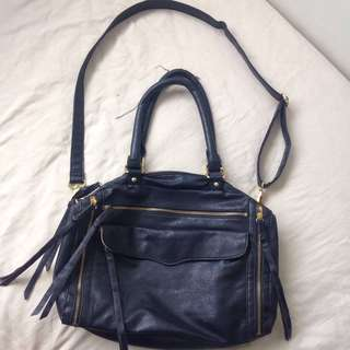 Leather bag -sling & shoulder