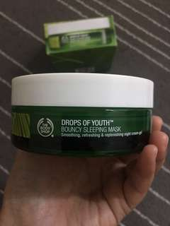 The Body Shop Bouncy Sleeping Mask