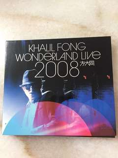 Khalil Fong Wonderland Live 2008 CD & DVD