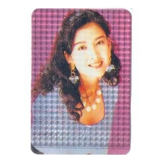VVN-047-光板001,閃卡,YES CARD,周慧敏,背面曲詞-光板001