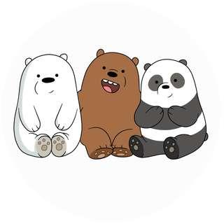 We Bare Bears Popsocket