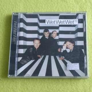 WET WET WET. 10 Cd not vinyl record